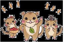 石鎚森の学校キャラクター