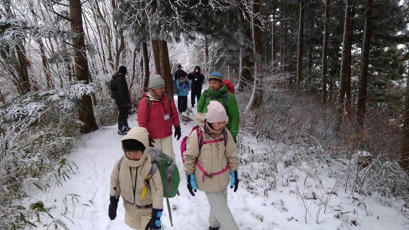 石鎚森の学校2020☆冬☆氷点下の森の自然観察&雪遊び♪の画像