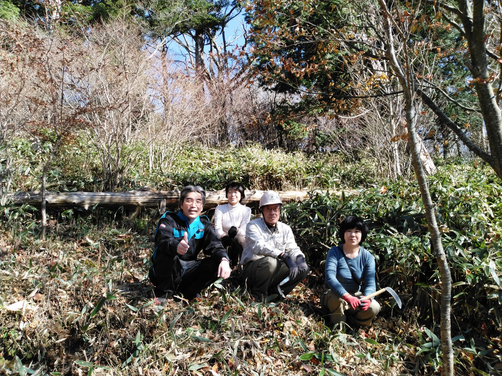 石鎚森の学校活動報告11/5 石鎚森の学校2020★森林保全活動★の画像