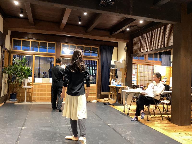 NPO法人石鎚森の学校活動報告/11月6日、創作神話昔話「あ(明)ける」リハーサル2の画像
